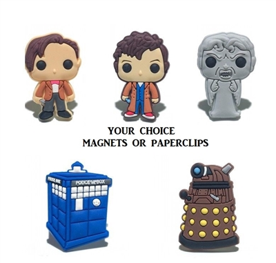 Dr. Who magnet set