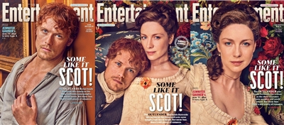 NEW !!  Entertainment Weekly Outlander Cover Set