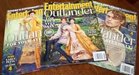 Entertainment Weekly Outlander Cover Set