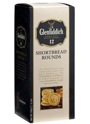 Glenfiddich Whisky Shortbread