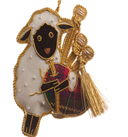 Heilan' Sheep  with pipes