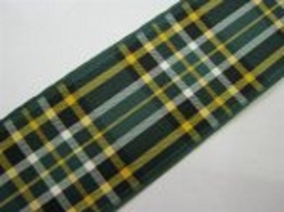 Irish National Tartan Ribbon