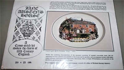 Jane Austen House Cross Stitch Kit