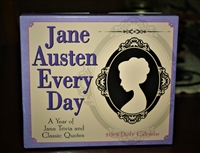 Jane Austen Every Day Desk Calendar 2019