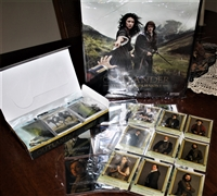 Cryptozoic Outlander Trading Card Binder Series 1 2nd release Beginner's Savings Package