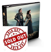 Outlander Season 4 Trading Cards Binder