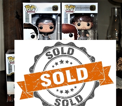 Outlander Funko Pop Set