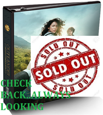 Cryptozoic Outlander Trading Card Series 1 Binder Bundle