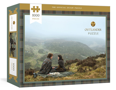 the Official Outlander Jigsaw puzzle