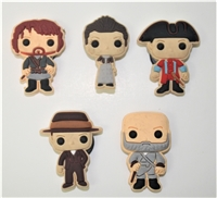 Wee Scots Mini Magnets set