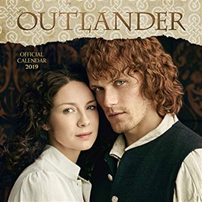 Outlander 12 month  2019 mini calendar