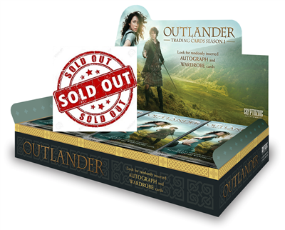 Cryptozoic Outlander Trading Cards Season 1