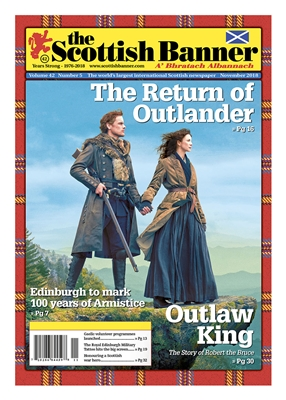 Scottish Banner Outlander Cover