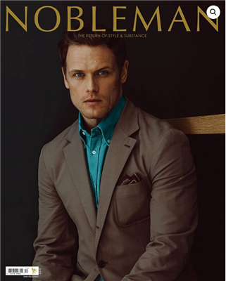Sam Heughan Nobleman  Cover Story