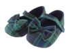 Tartan Mary Jane booties