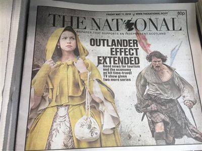 The National w/Outlander article