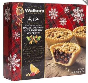 Walker's Spiced Orange & Cranberry Mince Pies