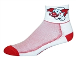 Clown Socks - White