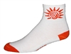 Solar Energy Socks - white
