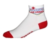 Las Vegas Socks - white