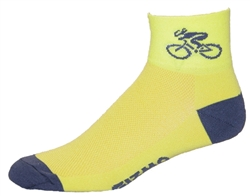 Bicycle Socks - yellow
