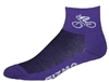 Bicycle Socks - purple