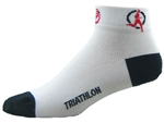 Triathlon Socks - white