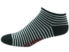 Stripes Socks - black