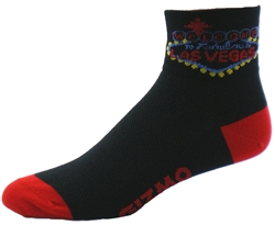 Las Vegas Socks - black