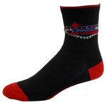 "Las Vegas 5"" Cuff Socks - black"