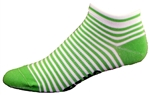 Stripes Socks - green
