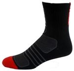 G-Tech 5.0 Socks - black/red