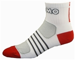 G-Tech 2.5 Socks - white/red