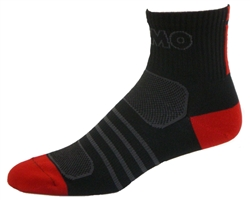 G-Tech 2.5 Socks - black/red