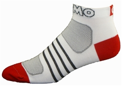 G-Tech 1.0 Socks - white/red