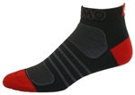 G-Tech 1.0 Socks - black/red