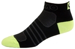 G-Tech 1.0 Socks - black/neon yellow