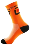 "Crono Socks 6"" - Neon Orange"
