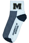 Michigan Wolverines Socks