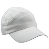 Running Hat Plain - White