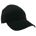 Running Hat Plain - Black