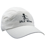 Gizmo Runner with 26.2 Running Hat - White
