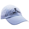 Gizmo Girl with 26.2 Running Hat - Light Blue