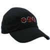 Triathlon Running Hat - Black