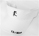 Gizmo Girl w/13.1 - Running Visor - White