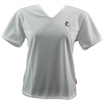 V-Tech Women's Short Sleeve Running Top - White