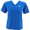 V-Tech Women's Short Sleeve Running Top - Royal Blue