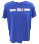 26.2 - Run Tech Shirt - s/s - royal blue