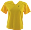 V-Tech Women's Short Sleeve Running Top - Yellow
