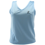 V-Tech Women's Running Tank Top - Lt. Blue